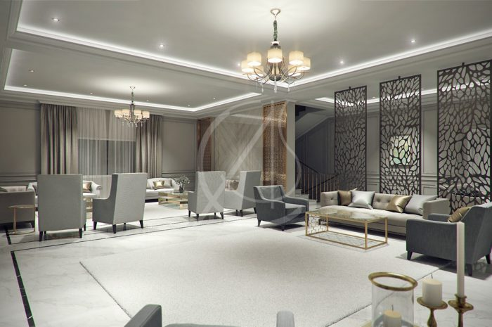 Villas and interior designing