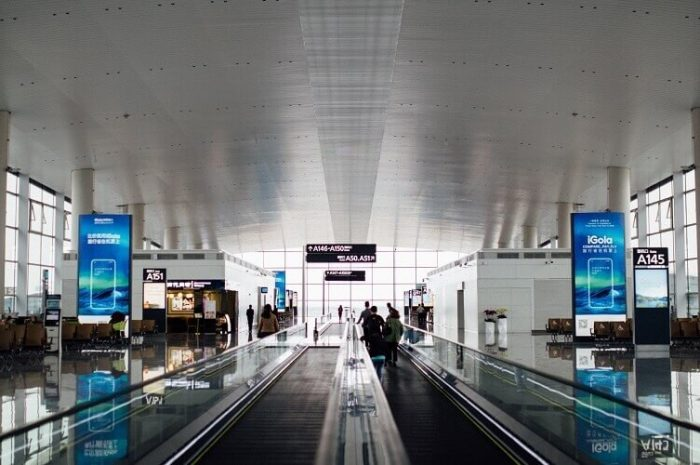 Benefits of digital displays in airports