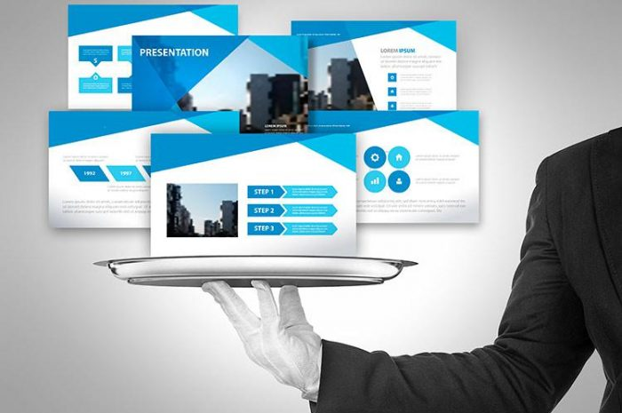 What are the benefits of presentation design companies?